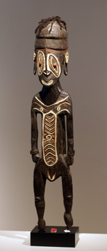 Female figure, Papua New Guinea