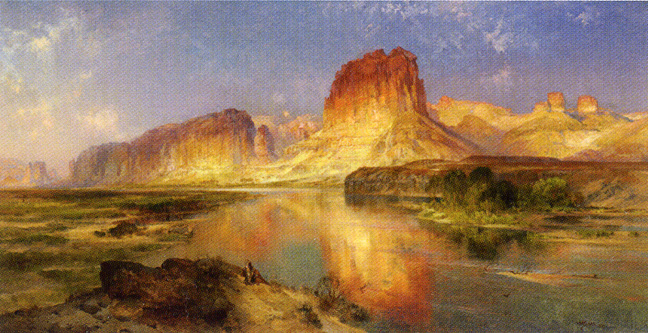 """Green River of Wyoming"" by Moran"