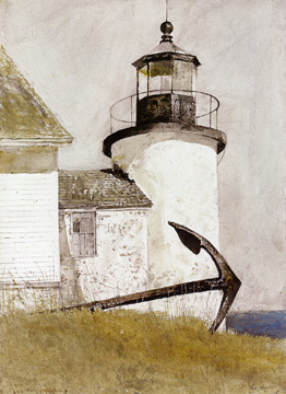 """Deserted Light"" by Wyeth"