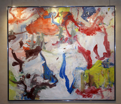 """Untitled 4"" by de Kooning"