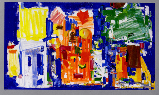 """Studio No. 11 in Blue"" by Hofmann"