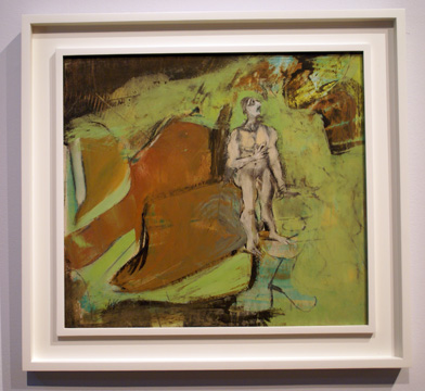 """Self-portrait in the wilderness"" by de Kooning"