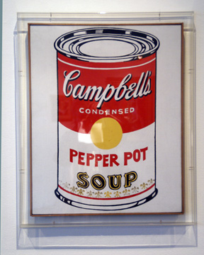 """Campbell's Soup Can (Pepper Pot)"" by Warhol"