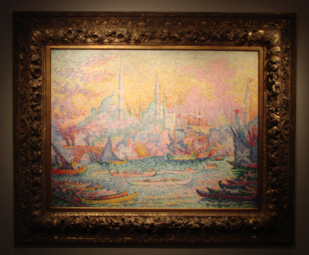 """La Corne d'or"" by Signac"