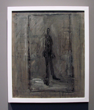 """Homme debout"" by Giacometti"