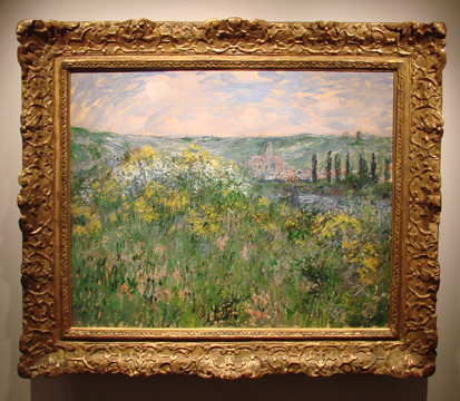 """Près de Vétheuil"" by Monet"