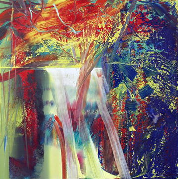 """Abstraktes Bild 610-1"" by Richter"
