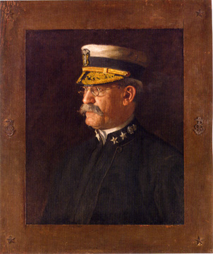"""Rear Admiral Charles Dwight Sigsbee"" by Eakins"