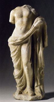 Hellenistic marble statue of Aphrodite