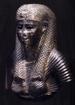 Egyptian bust of a queen or goddess