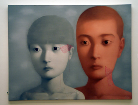 """2001 No. 8"" by Xiaogang"