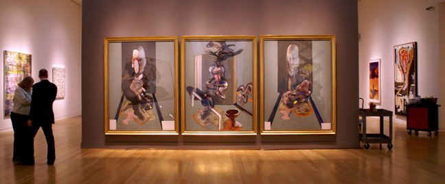 """Triptych"" by Francis Bacon"