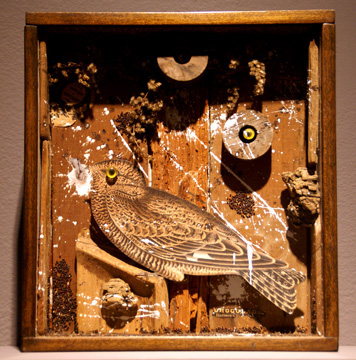 """Bird in a Box"" by Cornell"