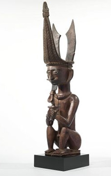 Male ancestor figure, Nias, Indonesia