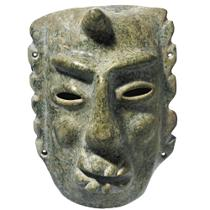 Chontal stone mask