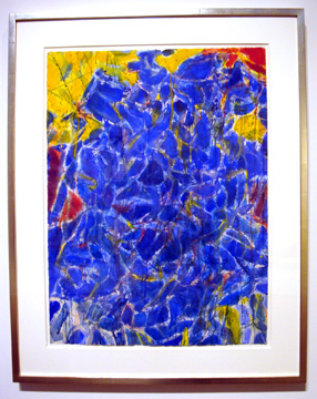 """Blue and Yellow"" by Francis"