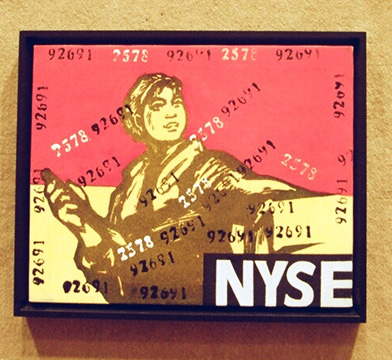 """Great Criticism Series: NYSE"" by Wang Guangyi"