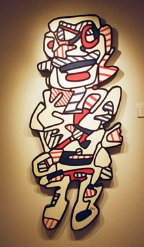 """Le Frigant"" by Dubuffet"