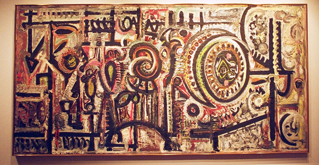 """Composition Number 1"" by Pousette-Dart"