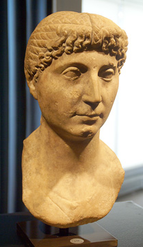 Roman Imperial portrait bust of a lady