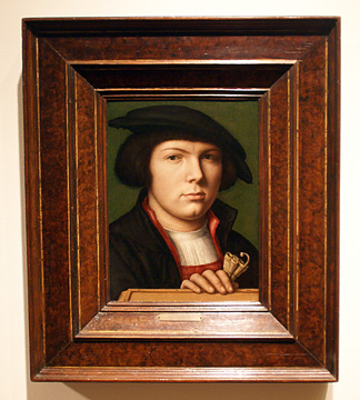 """Portrait of a Young Man"" Netherlandish School"