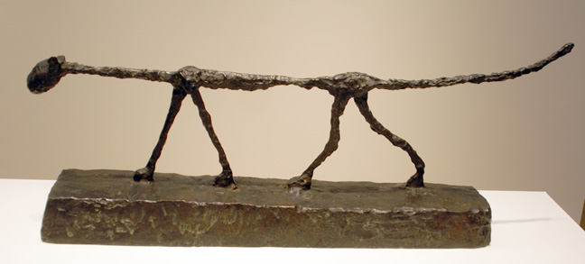 """Le Chat"" by Giacometti"