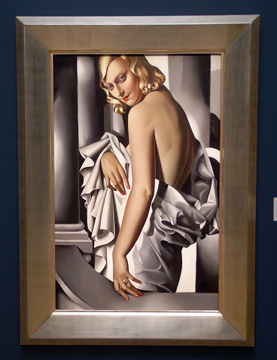 """Portrait of Marjorie Ferry"" by Lempicka"