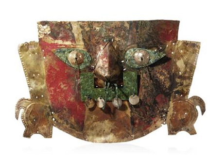 Gold mask, Sican