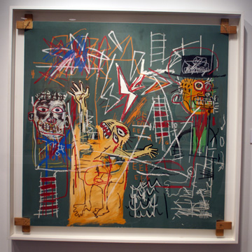 """Man Struck by Lightning - 2 Witnesses"" by Basquiat"