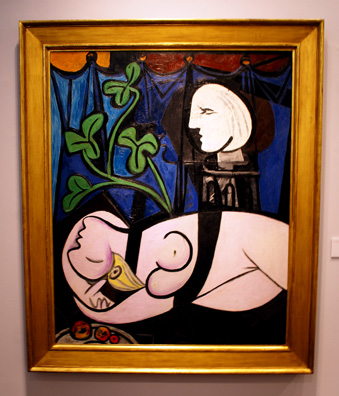"""Nude, Green Leaves & Bust"" by Picasso"