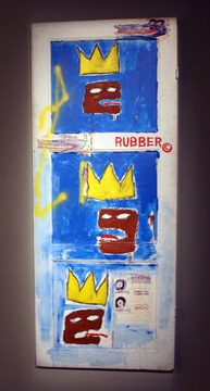 """Rubber"" by Basquiat"