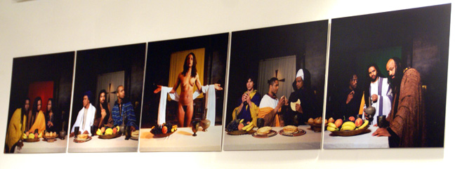 """Yo Mama's Last Supper"" by Cox"
