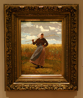 """The Return of the Gleaner"" by Homer"