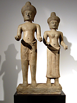 """Divine Couple"" from Khmer"