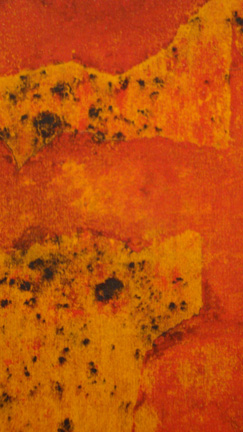Detail of untitled work by Gaitonde