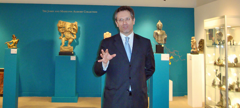 Hugo Weihe of Christie's