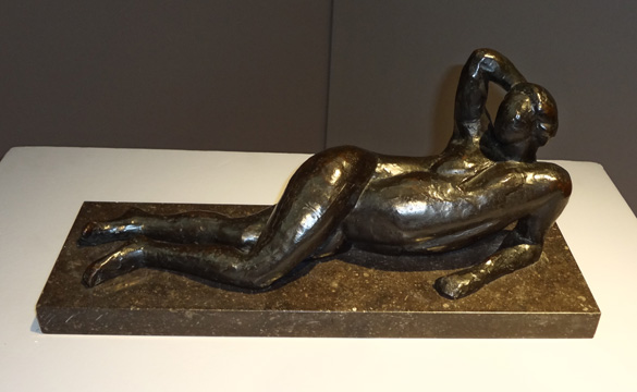 Matisse woman sculpture