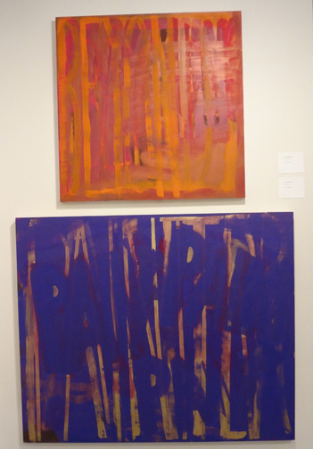 """Beyond"" and ""Paint Paint Paint"" by Dana Frankfort"