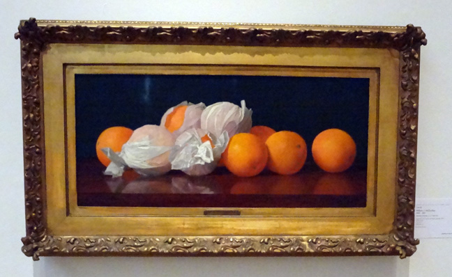 Wrapped oranges by McCloskey