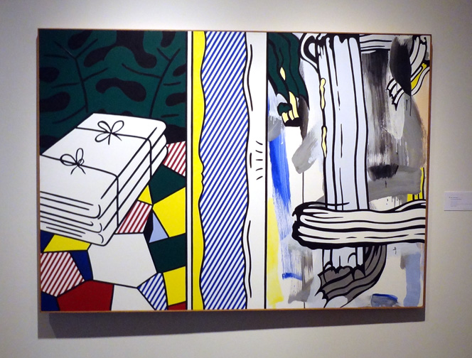 """Two Paintings"" Folded Sheets"" by Lichtenstein"