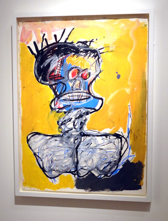 """Untitled (head) "" by Basquiat"