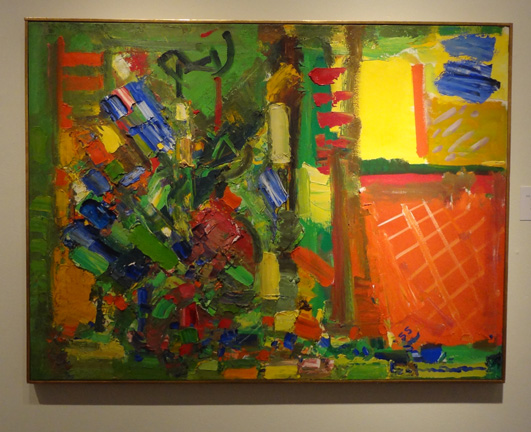"""Gold and Green"" by Hofmann"