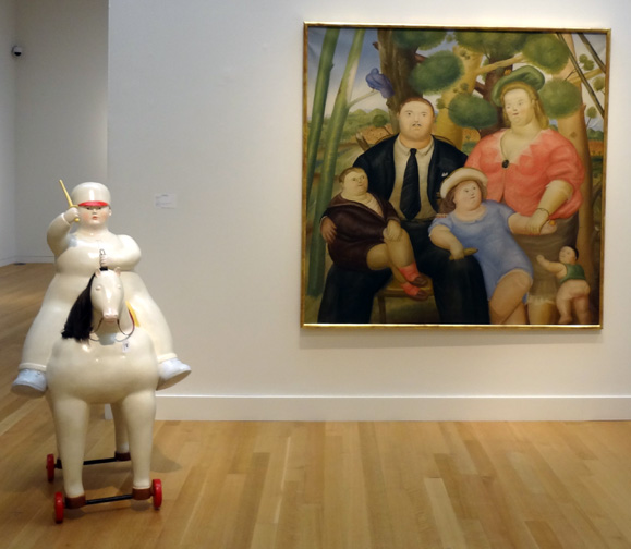 """Family"" and ""Boy on Horse"" by Botero"
