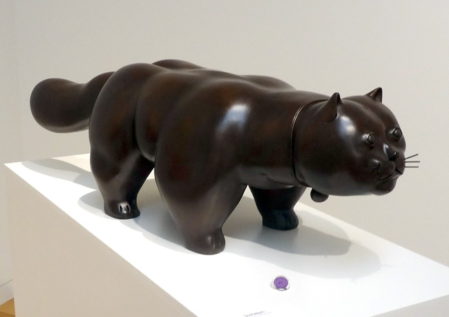 Cat by Botero