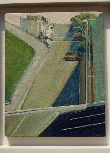 """Down Penn Street"" by Thiebaud"