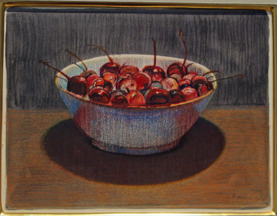 """Cherry Bowl"" by Thiebaud"