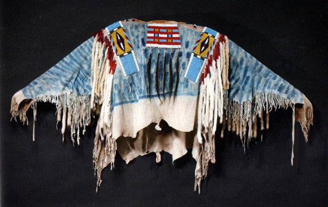 Chief's blue jacket