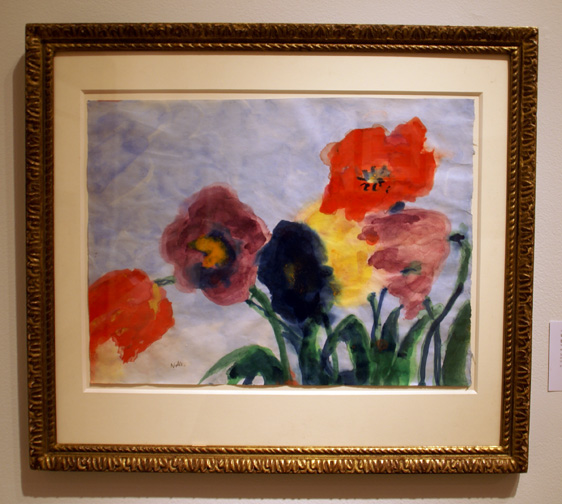 Flowers by Nolde