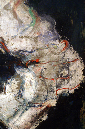 Detail of Soutine's chef