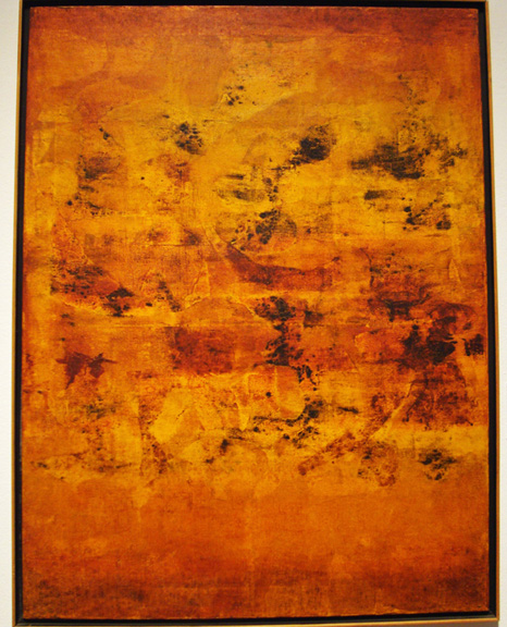 Untitled by Vasudeio Gaitonde